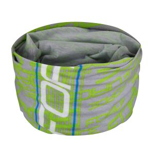 Multifunctional scarf fluo gris